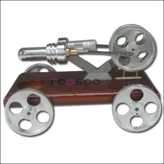 stirling engine is a heat engine that operates by cyclic compression
