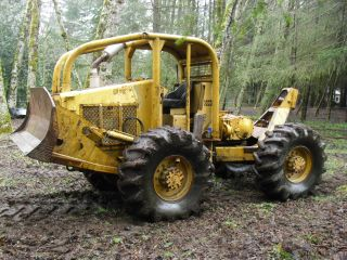 Log Skidder Forestry Equipment Gearmatic Winch