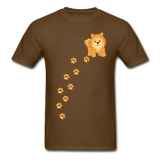 Cute Pomeranian Puppy Dog Cartoon T Shirt 11929325