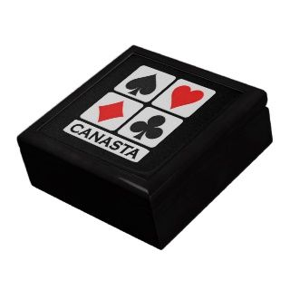 Canasta Spieler Geschenkbox